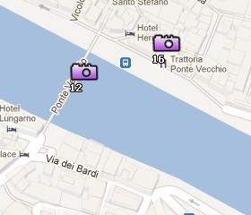 Situación del Corredor de Vasari