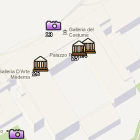 Situación de la Galería Palatina