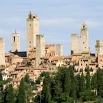 Situación de San Gimignano