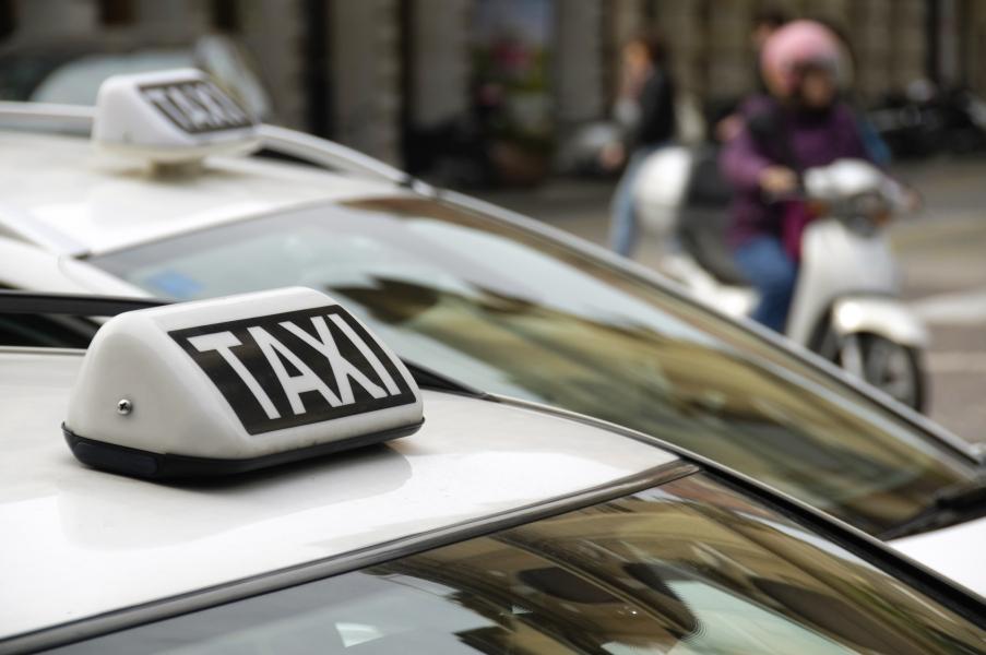 Taxi en Florencia