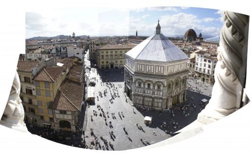Baptisterio San Giovanni – Desde el campanarioo de Ghiotto – Florencia