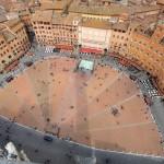 Plaza del Campo desde la Torre del Mangia